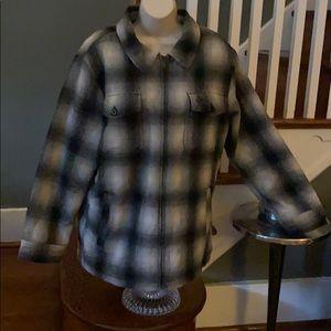 Men's MD Legendary Whitetails Heavy Zip Flannel